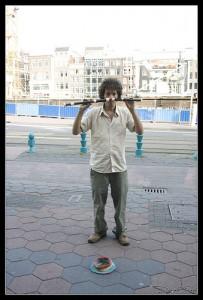Flötenspieler in Amsterdam (Bild: Daniele Faieta)