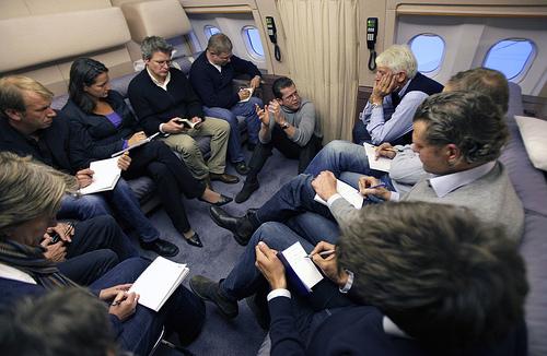 Guttenberg und Journalisten